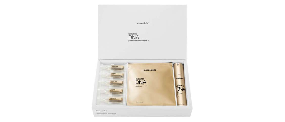 Produkt Foto Mesoestetic Radiance DNA professional treatment box - Praxis Adelma Duda