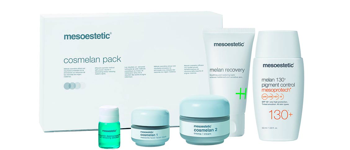 Produkt Foto Mesoestetic Cosmelan professional Treatment Pack 2018 - Praxis Adelma Duda