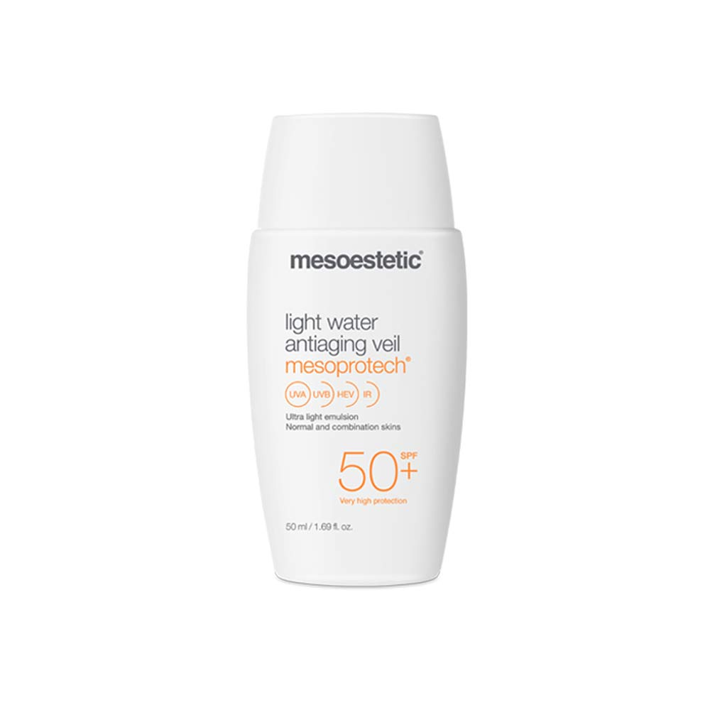 Produkt Foto Mesoestetic Mesoprotech light water anti-aging veil SPF50+ - Praxis Adelma Duda