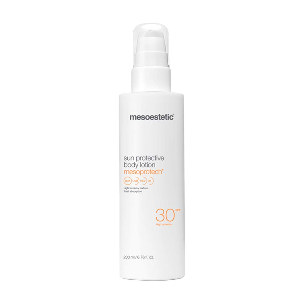 Produkt Foto Mesoestetic Mesoprotech sun protective body lotion SPF30 - Praxis Adelma Duda