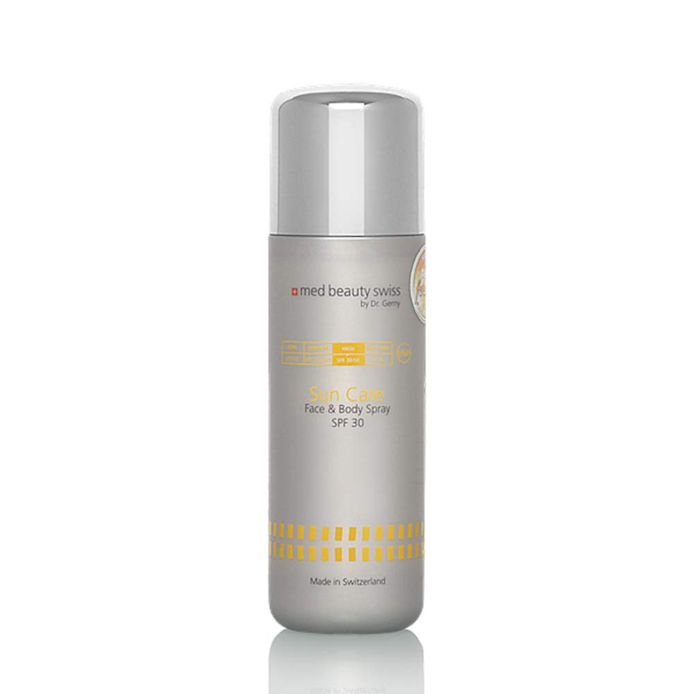 Produktbild, Med Beauty Swiss - Sun Care Face & Body Spray SPF30 - 30ml Reisegrösse