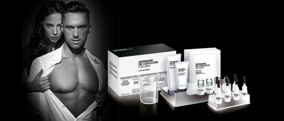 Produktbild für Germaine de Capuccini For Men C-Plus Energy Gesichtsbehandlung