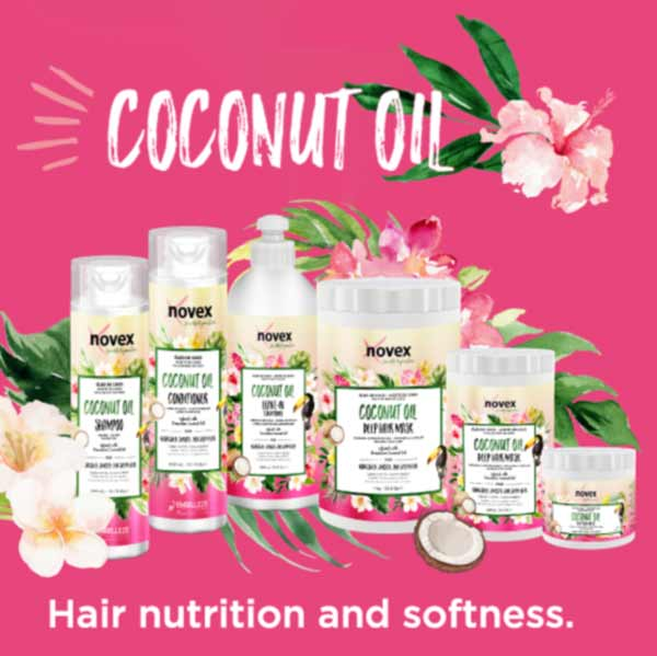 Kategoriebild Embelleze Novex Coconut Oil Hair Care