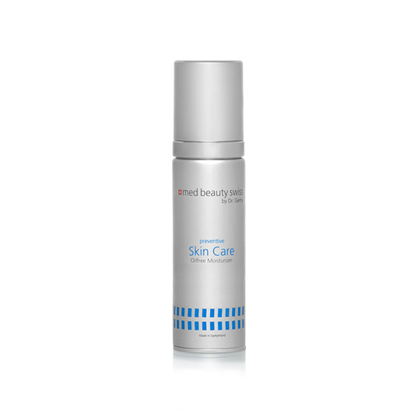 Produktbild zu med Beauty Swiss preventive Skin Care Oilfree Moisturizer 50ml