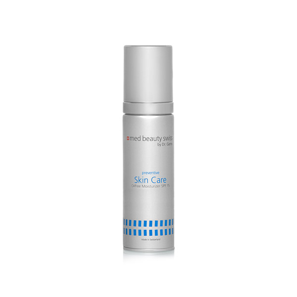 Produktbild zu med Beauty Swiss preventive Skin Care Oilfree Moisturizer SPF15 50ml