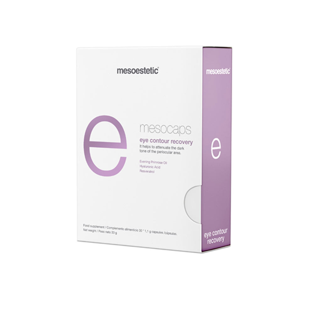 Produkt Foto Mesoestetic Mesocaps eye contour recovery Box - Praxis Adelma Duda